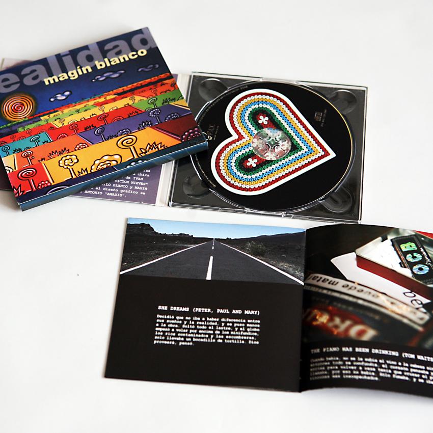 Deseño e fotografía de libreto de CD para Pai Música
