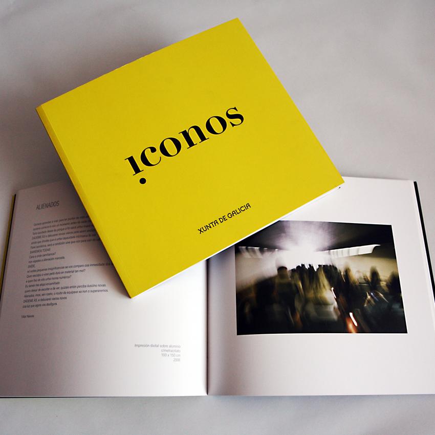 Catálogo de Iconos, dirección e totografía. 2007. Xunta de Galicia.
