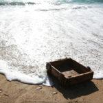 Sen título; Da serie Baleiro mar, baleiro amar, 2006. Vítor Nieves. Impresión dixital sobre foam. 120x80 cm