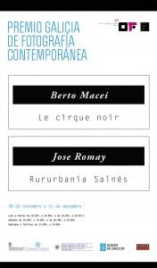 Pendón I Premio Galicia de Fotografía Contemporánea