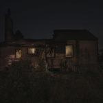 Casa abandonada luz