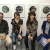 Presentación do OF2017 en Vigo. Na foto, de esq. a der: Xaquín Rosales, Rita Ibarretxe, Iria Vázquez e Vítor Nieves.